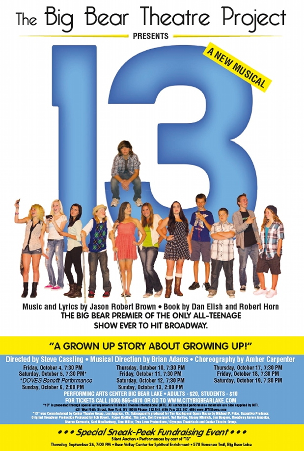 """13"" Opens Tomorrow Night!"
